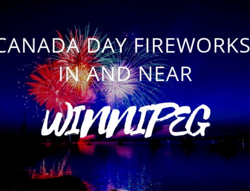 Canada Day Fireworks Locations in and near Winnipeg