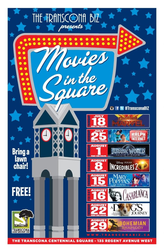 Transcona Biz Movie Nights | July 18 – August 29