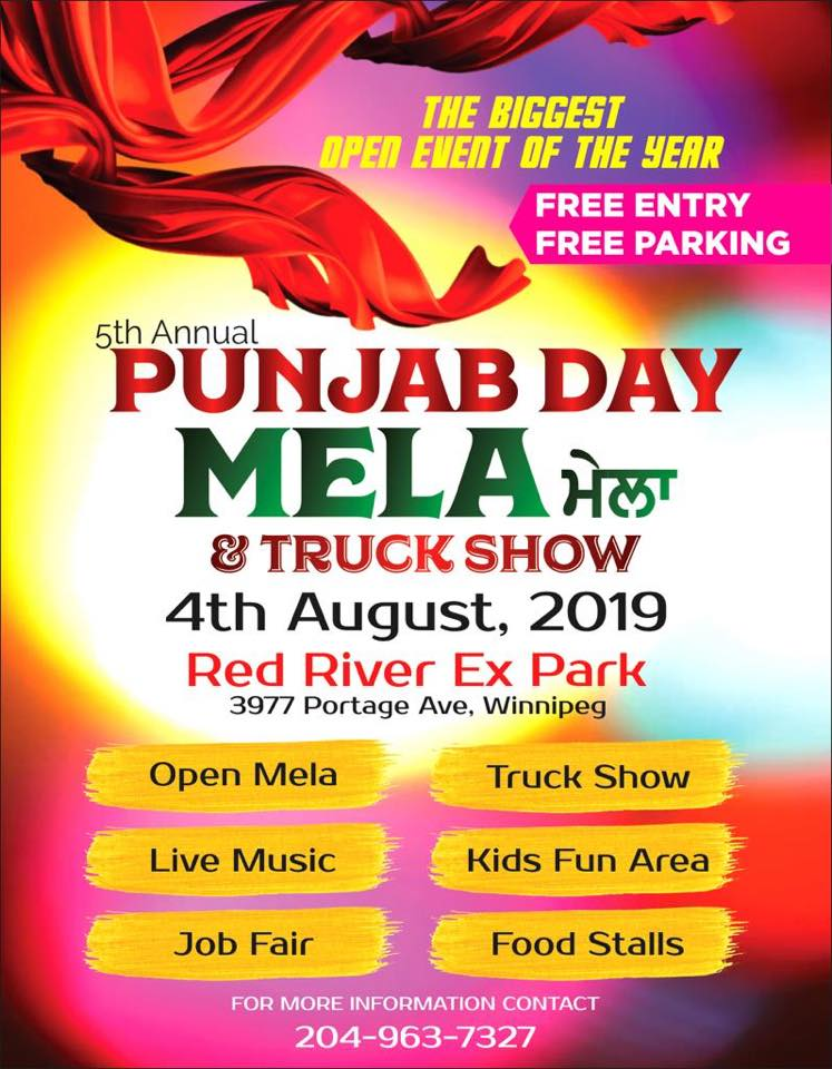 Open Mela & Truck Show @ Red River Exhibition Park | Free