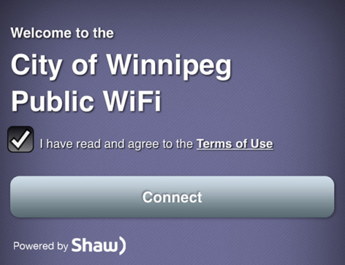 Free Unlimited Wi-Fi Service @ 50 City of Winnipeg Sites